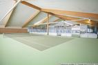 Tennis- und Fussballhalle